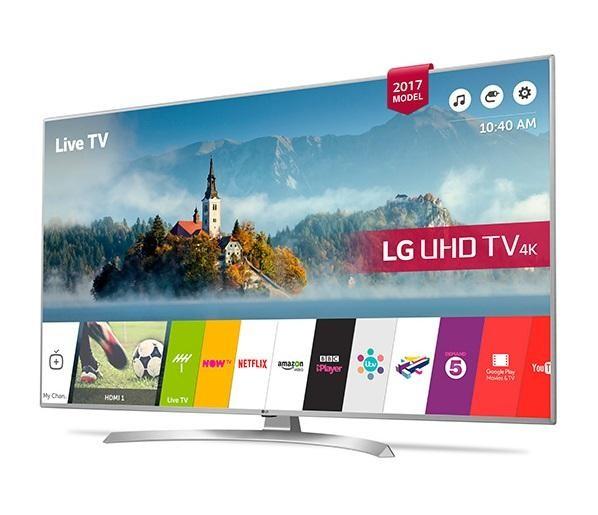 Lg 55uj701v 55 Inch Smart 4k Ultra Hd Hdr Led Tv Freeview