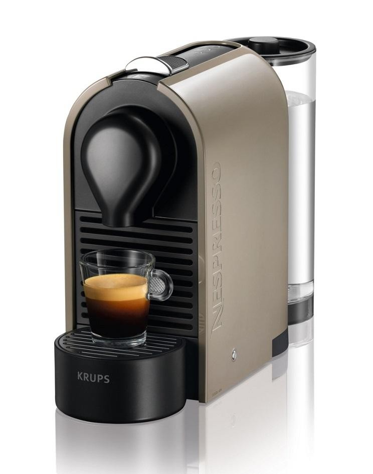 krups xn250a40 nespresso u pod coffee machine 19 bar 0 8 litre beige electrical deals. Black Bedroom Furniture Sets. Home Design Ideas