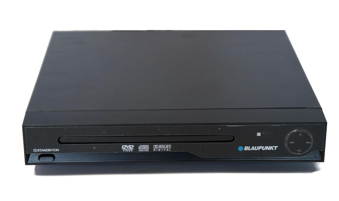 blaupunkt dv2202 compact dvd player scart av output black electrical deals. Black Bedroom Furniture Sets. Home Design Ideas