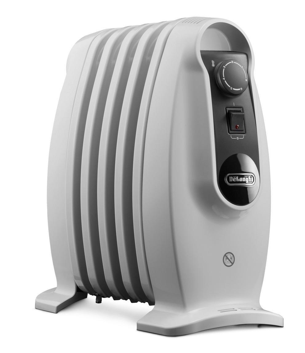 delonghi trns0505m nano oil filled radiator heater 500w. Black Bedroom Furniture Sets. Home Design Ideas