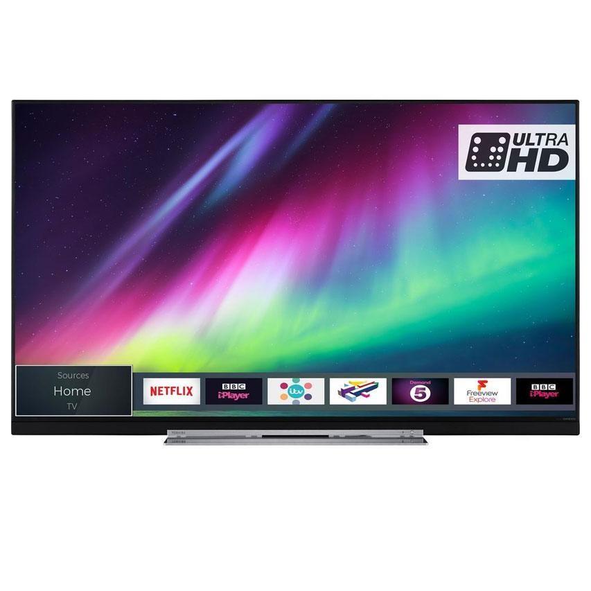 782ab5af805 Toshiba 49U7863DB 49 Inch Smart 4K Ultra HD HDR LED TV Freeview Play ...