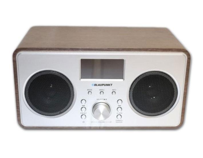 blaupunkt bprbw a1 dab clock radio bluetooth speaker brown. Black Bedroom Furniture Sets. Home Design Ideas