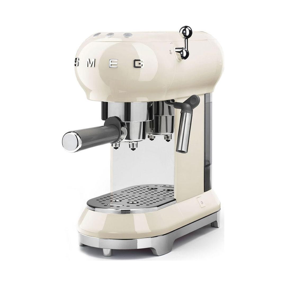 Smeg ECF01CRUK 1.5 Bar Coffee Machine Maker 1 Litre Pod ...