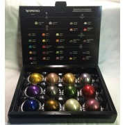 New Nespresso Vertuo Coffee Pods Welcome Set 12 Variety Capsules BB 31/12/2019