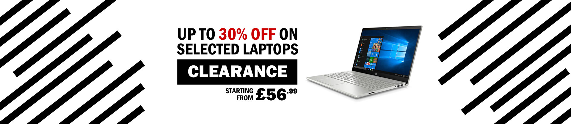 30%OFF Laptops