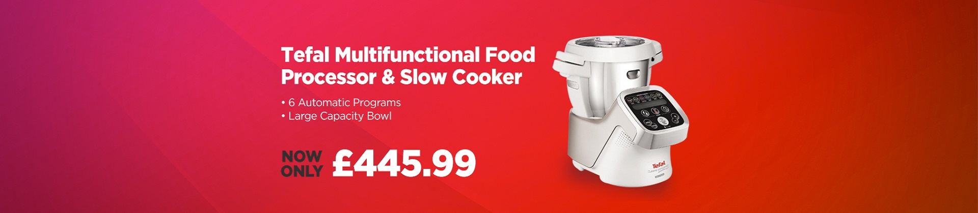 Amazing savings on Tefal FE800 Cuisine companion
