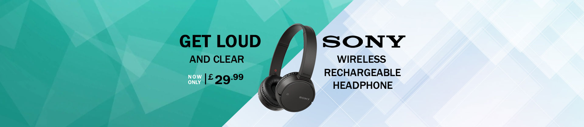 Sony MDR-ZX220BT only £29.99