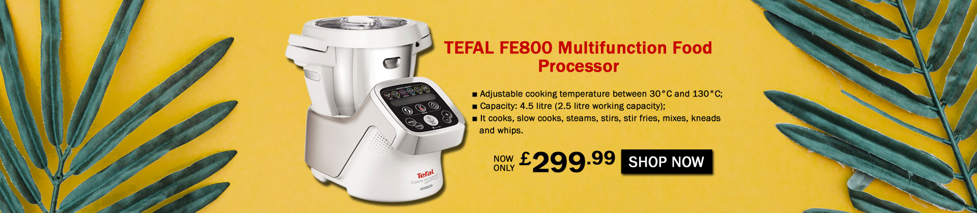 Tefal Multifunctional Food Processor