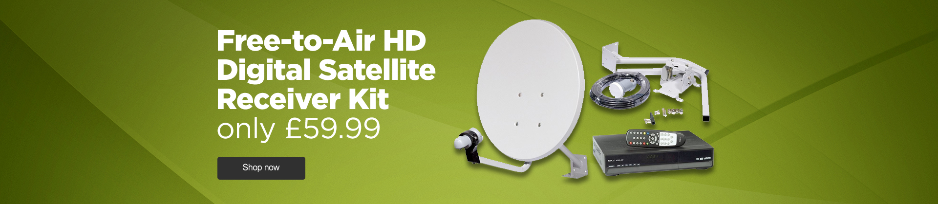 Free to air HD Satellite Kit