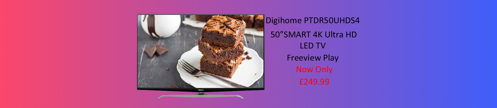 50 inch digihome TV